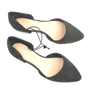 GAP Olive Green Slide On Shoes